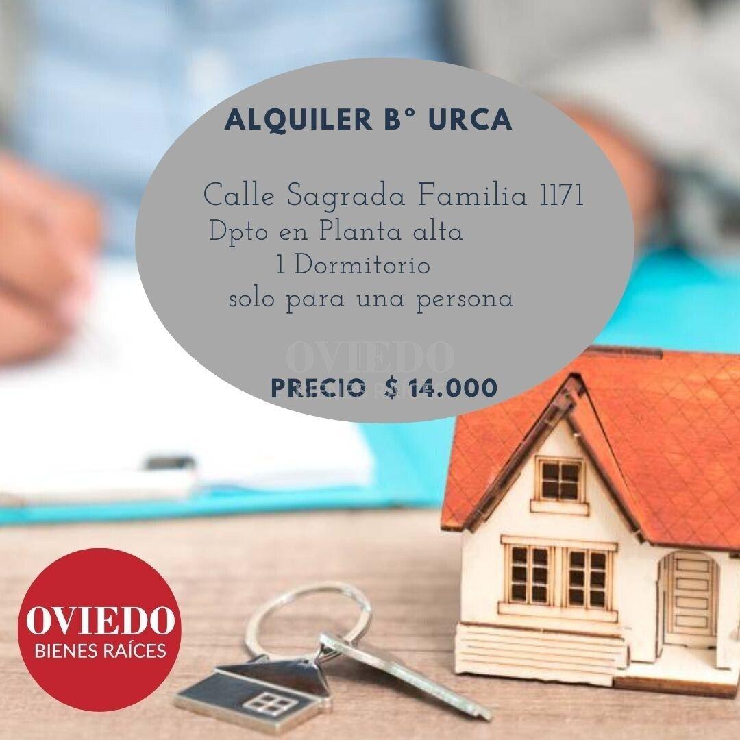 DEPARTAMENTO EN ALQUILER 1 DOR Bº URCA